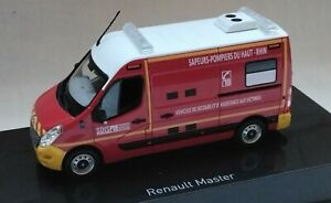 Renault Master pompiers Haut Rhin - Norev 1/43