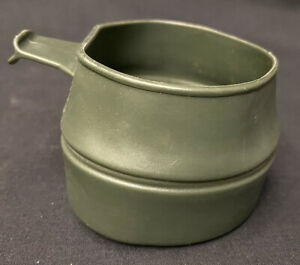 Dutch Military Olive Green Folding Cup