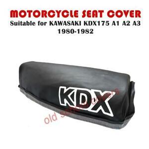 Motorrad Sitzbezug Für KDX 175 A1 A2 A3 Kawasaki 1980-1982 KDX175 # Weiß