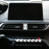 Montre électronique avec sortie d'air Montres à quartz pour Peugeot 3008 4008
