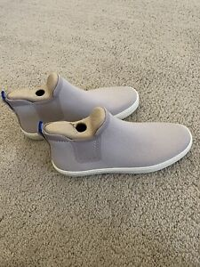 BNIB Rothy's The Chelsea Casual Boot in Shade Lilac Grey // Size 10.5