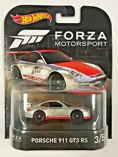 Hot Wheels 2017 Retro Entertainment Case E FORZA 3/5 PORSCHE 911 GT3 RS DWJ93