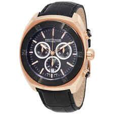 Saint Honore Haussman Chronograph Black Dial Men's Watch 886010 78nir