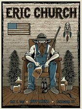Eric Church Poster Iron On Transfer For T-Shirt & Other Light Color Fabrics #1