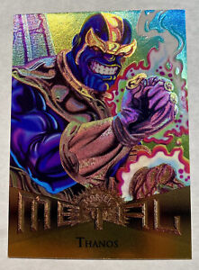 1995 Fleer Marvel Metal Thanos  card #19 PSA ready