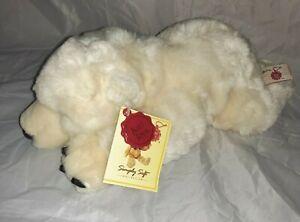 *Used Keel simply Soft polar bear soft Toy cream vgc*