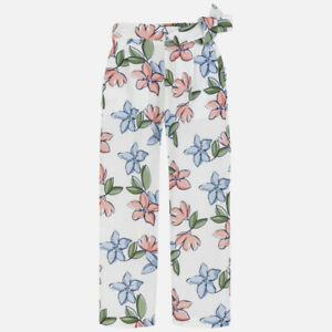 New Girls Mayoral Patterned Chiffon Trousers , Age 8 Years , (6533)