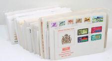 Malawi 1964/89 Sammlung Ersttagsbriefe mit tollen Frankaturen, Motive etc.