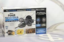Ninja Foodi NeverStick Premium Hard-Anodized 10-Piece Cookware Set C39500 New