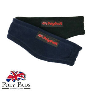 GENUINE Ear warmer warm riders PolyPads winter warmer fleece headband