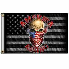 AMERICA RISING USA FLAG PATRIOTIC (3' X 5') FLAG