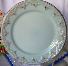 "Matceramica Batalha Blue Pottery 8 5/8"" Salad Plate - Made in Portugal"