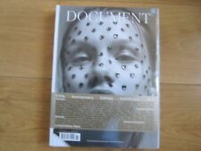 Document Magazine Fifth Anniversary Fall / Winter 2017 Harley Weir Sealed.
