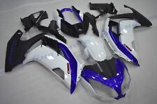 Fairing Set Body Kit For KAWASAKI Ninja 650 ER-6F 2012 2013 2014 2015 Blue-white