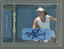 TIFFANY DRABEK AUTO 2007 ACE AUTHENTIC AUTOGRAPH