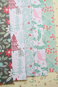 Holiday Patterns Card Stock 250gsm christmas cartoon trees deco xmas paper craft