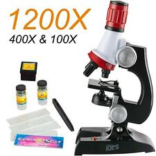 Orland Biological Science HD Microscope Toy Set Kids Student Experimental B98B