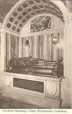 London: Cardinal Manning's Tomb, Westminster Cathedral - Unposted c1920s