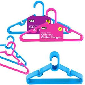 Clothes Hangers Plastic Baby Kids Children Coat Cloths Kids Plastic Hangers