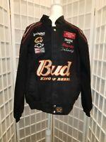 Chase Authentics Size XL Budweiser Dale Earnhardt Jr. Nascar Jacket
