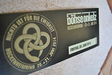 Sammler-Ticket Souvenir Böhse Onkelz Hockenheimring 2014 **TOP Zustand**