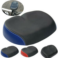 Comfort Wide Big Bum Bike Bicycle Extra Sporty Soft Pad Saddle Seat Component A