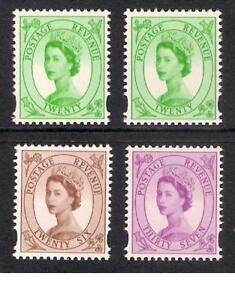 GB 1998 sg2031 2031ea 2032 2033 Wilding Definitive booklet stamps set