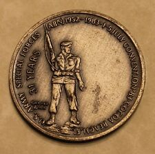 Special Forces Groups Airborne 1983 Convention Serial #0287 Army Challenge Coin