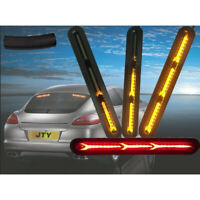 2x 60LED Car Truck DRL LED Lights Bar Brake Flowing Turn Signal Stop Tail Strips