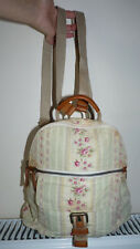 Fossil  Canvas Small Rucksack with Real Leather Details