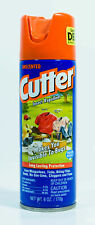 Cutter Insect Repellent Unscented Water Based Deet Long Lasting Protection 6 oz