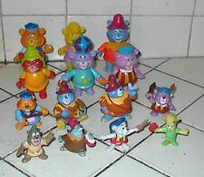 14 GUMMI BEARS,1985-1991,Fisher-Price full set of 6,Kellogg's full set of 4,etc