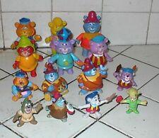 14 GUMMI BEARS,1985-1991,Fisher-Price full set of 6,Kellogg's full set of 4,etc