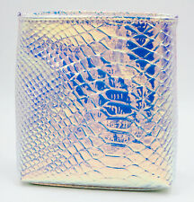 Ulta Beauty Small Holographic Iridescent Reptile Cosmetic Travel Makeup Bag