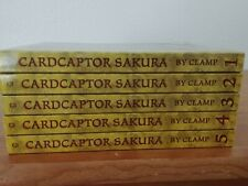 Cardcaptor Sakura Manga Vol. 1-5 TokyoPop Brand New