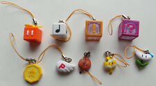 Super Mario 3D Land Mini- Small PVC ICON charms 9 pieces