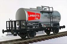 EXCLUSIVITE: Wagon citerne SNCF LAMBIOTTE échelle Zéro