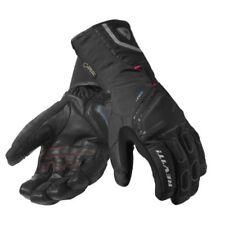 Gants noir noirs doigts pour motocyclette