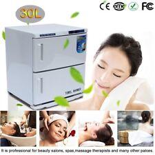 30L 2in1 UV Light Hot Facial Spa Towel Warmer Sterilizer Salon Cabinet Heater BT