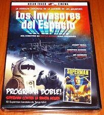 LOS INVASORES DEL ESPACIO + SUPERMAN CONTRA LA BANDA NEGRA - Precintada