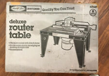 Vintage Deluxe Craftsman Router Table 925443 NOS