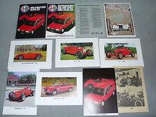 Prospekt Alfa Romeo 33 - Die Welt des Alfa 33, ca.1983, 10 Teile in Mappe