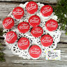 "12 I Live SOFTBALL RED Pins trade Badges 1 1/4"" PINBACK Party Favor Gift USA NEW"