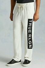 True Religion Jeans Men Oatmeal Basic Sweatpants MEDIUM