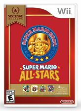 NEW Super Mario All-Stars (Nintendo Wii, 2010) Selects Cover