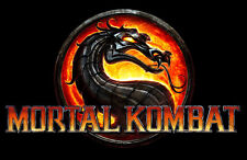"Mortal kombat 9 Game Silk Cloth Poster 36 x 24"" Decor 40"