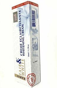 Fare & White Whitening cream tube Creme Eclaircissant 50ml 1.76oz