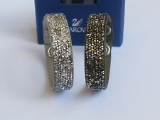 Swarovski Crystal Rock Armband Set Grau und Taupe 5089704