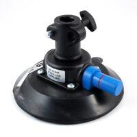 """Manfrotto 241S Pump Cup mit 5/8"""" (16mm) female Socket Vakuum Saugnapf Halterung"""
