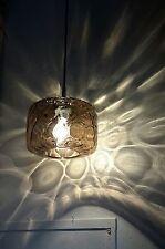 70er Jahre Lampe Space Age Limburg Rauchglas Glas/Chrom Glashuette Panton 70s